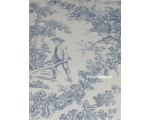 Toile de Jouy Blue Pillowshams Percale
