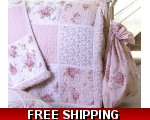 Laundry Bag Pink Floral..