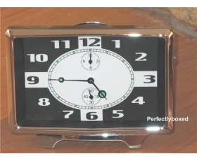 Retro Alarm Clock Black Mechanical