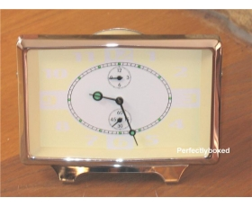 Retro Alarm Clock Cream Mechanical