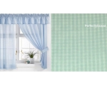 Cotswold Green Curtains 66 x 48 Incl Pelmet Tie ..