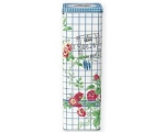 Greengate Garden Check Pasta Storage Tin Blue Pi..