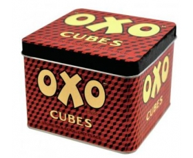 Robert Opie Oxo Cubes Storage Tin Retro