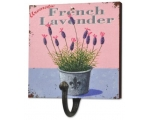 Wiscombe Single Hook French Lavender Pink Blue