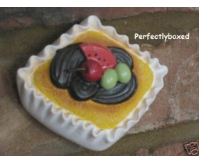 3D Cupcake Wall Plaque melon grapes