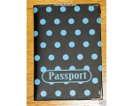 Passport Holder Black B..