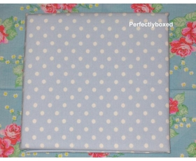Duvet Covers Blue Polka dot spot King Soft Brushed Cotton Bedlinen