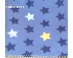 Blue Stars Fleece Blanket Throw Fleecy Boys