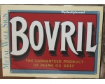 Bovril Metal Wall Sign Retro Vintage