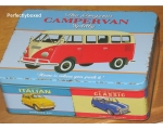 Wiscombe Campervan Lunch Box Tin Retro Storage