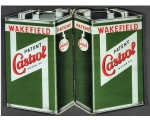 Castrol Motor Oil Metal Wall Sign Retro Vintage