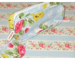 Cath Kidston Cosmetic Make Up Case Bag Rose Blue..