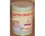 Wiscombe Clotted Cream Tea Storage Tin Retro Kit..