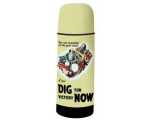Dig for Victory Thermos Bottle Vintage Retro Fla..