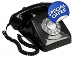 GPO 746 Black Telephone..