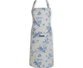 Greengate Aprons Camille Dusty Blue Vintage Floral
