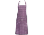 Greengate Aprons Naomi Plum Purple Polka Dots Vi..