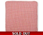 Greengate Seat Pad Red Gingham Chair Box Cushion..