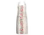 Greengate Aprons Elise Vintage Cream Red Pink Fl..