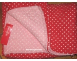 Greengate Quilt Naomi Red Double pink red polka ..