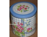 Greengate Set 3 Tins Garden Check Vintage Floral..