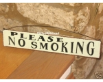 Metal Sign No Smoking P..