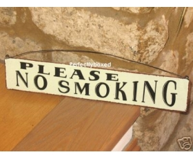 Metal Sign No Smoking Pub Restaurant Bar
