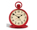 Newgate Regulator Alarm Clock Red Fob Vintage St..