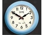 Newgate Small 'Electric' Wall Clock Blue Limited..