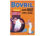 Robert Opie Bovril Puts Beef into You A5 Metal S..
