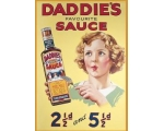 Robert Opie Heinz Daddies Sauce A5 Metal Sign Re..
