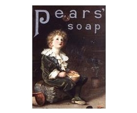 Robert Opie Pears Soap Bubbles A5 Metal Sign Retro