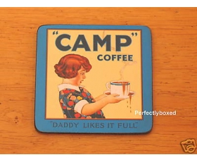 Robert Opie Coasters Camp Coffee Drinks mat