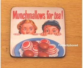 Robert Opie Coasters Munchmallows for tea Drinks Mat
