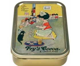 Robert Opie Fry's Cocoa Party Collector Keepsake Tin Retro