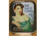 Robert Opie She Had it Coming Collector Tin Retro