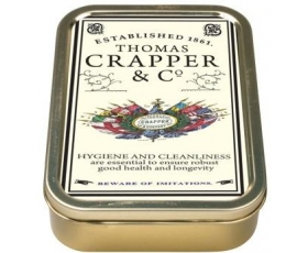 Robert Opie Thomas Crapper Collector Keepsake Tin Retro