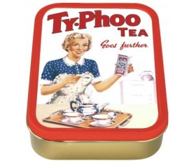 Robert Opie Typhoo Tea Lady Collector Keepsake Tin Retro