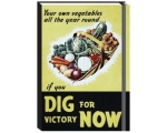 Dig for Victory Notebook A6 Ruled Hardback Journ..