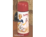 Typhoo Tea Thermos Bottle Vintage Retro Drinks F..