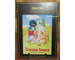 Robert Opie A5 Metal Sign Golden Shred Golly Retro
