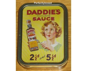 Robert Opie Daddies Sauce Collectors Tin Retro