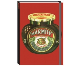 Marmite Notebook A6 Ruled Hardback Journal Robert Opie Retro