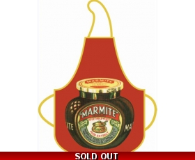 Apron Marmite Vintage Jar Robert Opie Cotton Retro