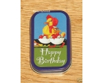 Robert Opie Tin Happy Birthday Duck