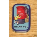 Robert Opie Tin Thank you Note