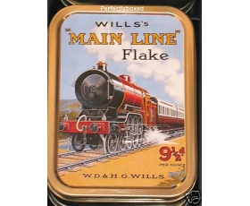 Robert Opie Main Line Flake Train Collector Tin Retro
