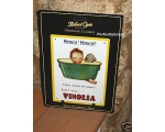 Robert Opie A5 Metal Sign Vinolia Soap Mother Ba..