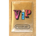 Passport Holder VIP Gol..