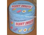 Wiscombe Penny Sweets Storage Tin Retro tea coff..
